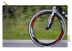 Carry-all Pouch featuring the photograph Speed Of Life by Linda Unger