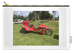 Carry-all Pouch featuring the photograph Speed Racer Trike by Aaron Martens