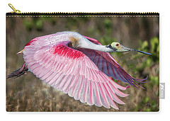 Spoonbill Winging It Carry-all Pouch