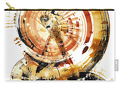 Carry-all Pouch featuring the painting Sphere Series 1020.050112 by Kris Haas