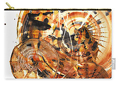 Carry-all Pouch featuring the painting Sphere Series 1021.050212 by Kris Haas