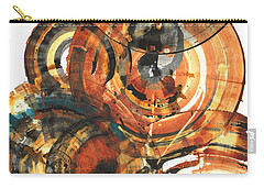 Carry-all Pouch featuring the painting Sphere Series 1022.050212 by Kris Haas
