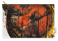 Carry-all Pouch featuring the painting Sphere Series 1023.050312 by Kris Haas