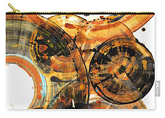 Carry-all Pouch featuring the painting Sphere Series 1024.050312 by Kris Haas