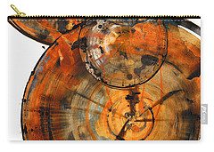 Carry-all Pouch featuring the painting Sphere Series 1027.050412 by Kris Haas