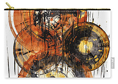 Carry-all Pouch featuring the painting Sphere Series 1028.050412 by Kris Haas