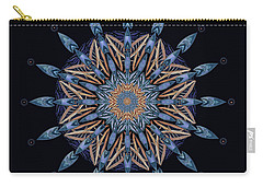 Sphinx Moth Pattern Mandala Carry-all Pouch