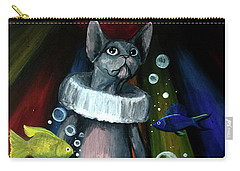 Sphynx Clown Carry-all Pouch