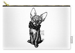 Sphynx Drawing Carry-all Pouch
