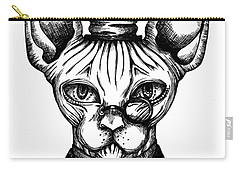 Sphynx Gentleman Carry-all Pouch