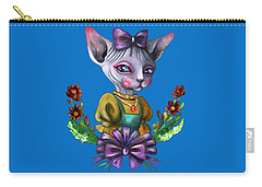 Sphynx Girl Carry-all Pouch