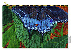 Spicebush Swallowtail Carry-all Pouch by Susan Duda