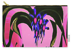 Spider Flower Carry-all Pouch
