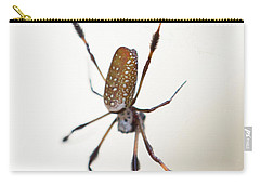 Spider In The Woods Carry-all Pouch