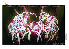 Spider Lilly Carry-all Pouch