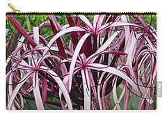 Spider Lily Carry-all Pouch by Athala Carole Bruckner