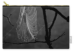 Spider Web Carry-all Pouch by Alana Ranney