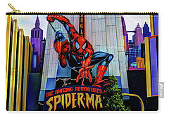 Carry-all Pouch featuring the photograph Spiderman by Tom Prendergast