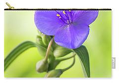Spiderwort Wildflower Carry-all Pouch