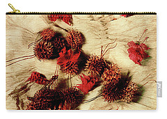 Spiked Nuts Red Carry-all Pouch