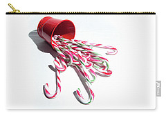 Spilled Candy Canes Carry-all Pouch