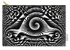Spiral Abstract 1 Carry-all Pouch
