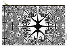 Spiral Abstract 7 Colour Choice Carry-all Pouch
