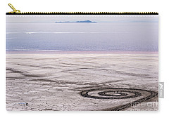 Spiral Jetty - Great Salt Lake - Utah Carry-all Pouch by Gary Whitton