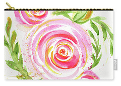 Spiral Pinks  Carry-all Pouch