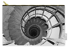 Carry-all Pouch featuring the photograph Spiral Staircase At The Arc by Donna Corless