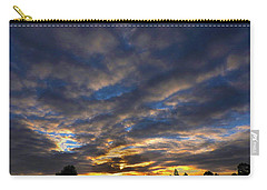 Carry-all Pouch featuring the photograph Spiral Sunset by Mark Blauhoefer