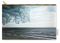 Spiraling Storm Clouds Over Daytona Beach, Florida Carry-all Pouch