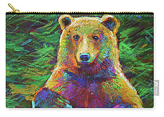 Spirit Bear Carry-all Pouch by Robert Phelps