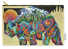 Spirit Bear Totem Carry-all Pouch