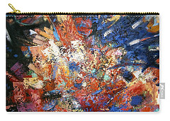 Carry-all Pouch featuring the painting Spirit by Gary Coleman