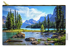Spirit Island On Maligne Lake Carry-all Pouch