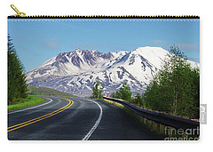 Spirit Lake Highway To Mt. St. Helens Carry-all Pouch