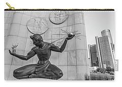 Spirit Of Detroit And Renaissance Center  Carry-all Pouch