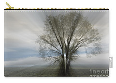 Carry-all Pouch featuring the photograph Spirit Of Nature by Sandra Bronstein