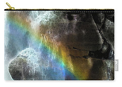 Carry-all Pouch featuring the photograph Spirit Of Nooksack Falls by Yulia Kazansky
