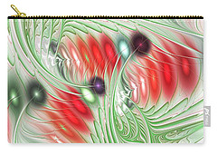 Carry-all Pouch featuring the digital art Spirit Of Spring by Anastasiya Malakhova