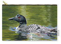 Carry-all Pouch featuring the painting Spirit Of The North by Lynne Reichhart