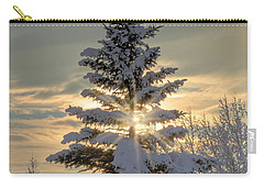 Spirit Tree Carry-all Pouch by Brad Allen Fine Art