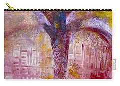 Carry-all Pouch featuring the painting Spirit Tree by Claire Bull