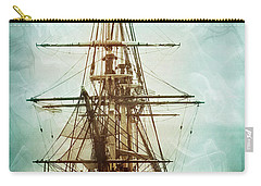Carry-all Pouch featuring the photograph Spirits Of A Ship by John Rivera