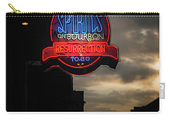 Spirits On Bourbon Carry-all Pouch