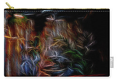 Carry-all Pouch featuring the digital art Spirit's Playground by William Horden