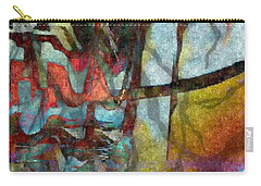 Carry-all Pouch featuring the photograph Spirit Quest by Kathie Chicoine
