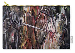 Carry-all Pouch featuring the painting Spiritual Void by Reed Novotny