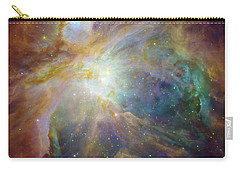 Spitzer And Hubble Create Colorful Masterpiece Carry-all Pouch